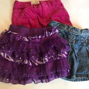 Other - Cute 3 Girls Skirst Size 4